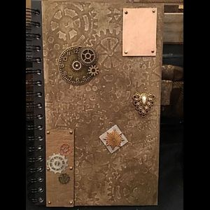 TICK TOCK. STEAMPUNK JOURNAL