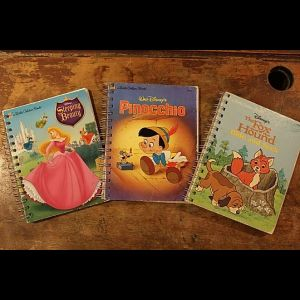 CLASSIC CHILDREN'S GOLDENBOOK JOURNALS